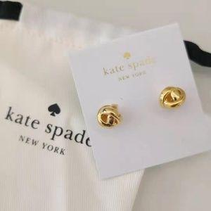 KATE SPADE Dainty Sparklers Knot Studs